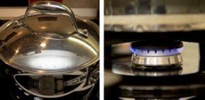 Пример используемой посуды для варки сиропа