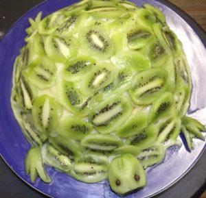 Украшенный Изумрудный торт