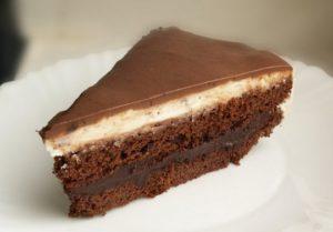 Кусочек торта Капучино