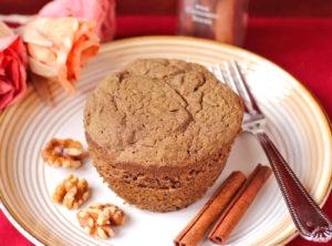 Вкусный кекс в микроволновке за 5 минут