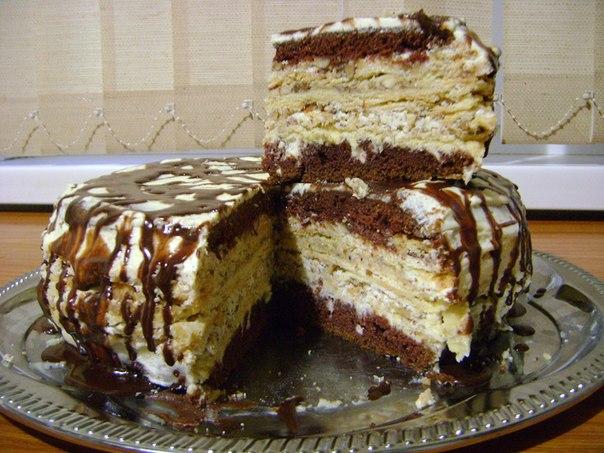 Торт Крещатый яр в готовом виде для подачи