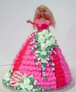 Готовый торт Кукла Барби