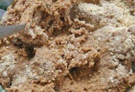 Молотый бисквит с кремом