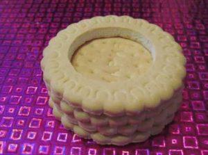Печенье, собранное в колесо