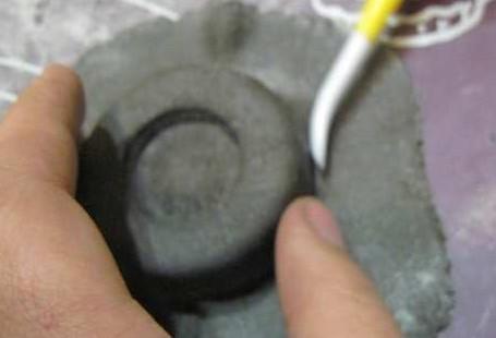Делаем колеса натуральными с помощью мастики