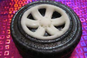Диск для съедобного колеса из мастики