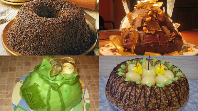 """Разнообразие украшений для торта """"Муравейник"""""""