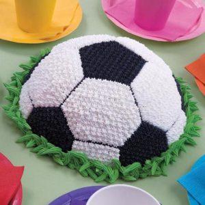 Праздничный торт Мяч для победителя