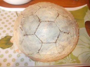 Заготовим для себя 6-угольники настоящего мяча