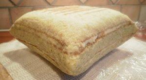Сглаженные пропорции бисквита с кремом