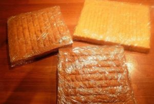Бисквитные готовые коржи квадратной формы