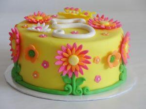 Декорирование праздничного торта