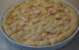 Практически готовый грушевый десерт