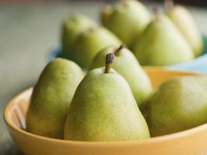 Для десерта выбираем спелые груши твердых сортов