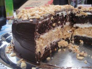 Крем для торта сникерс рецепт
