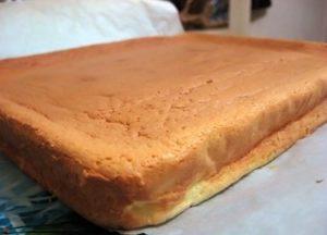 """Готовый бисквит для торта """"Сумка"""""""