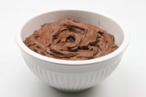 Готовый сливочно-шоколадный крем