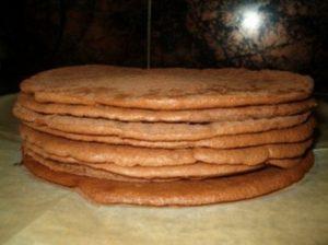 """Готовые коржи для торта """"Трюфель"""""""