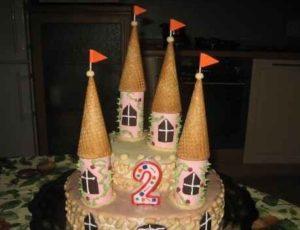 Крыши для башен из вафельных стаканчиков
