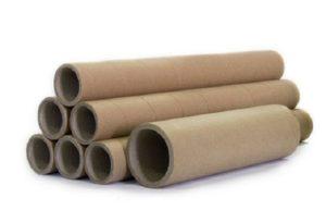 Картонные трубки: вторсырье после использования пергамента, пленки