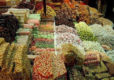 Разнообразие восточных сладостей
