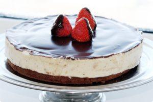 Шоколадное покрытие торта-суфле