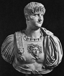 Римский император Нерон (годы жизни: 39-68 н.э.)