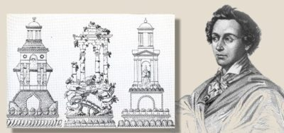 """Мари-Антуан Карем (года жизни 1784-1833) - знаменитый повар-кондитер и """"архитектор"""" многоярусных тортов"""