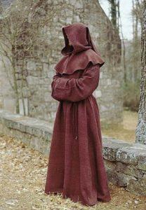 Одеяние монахов ордена Капуцинов, который существует и в настоящее время