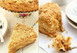 """Готовый торт """"Наполеон"""" по классическому рецепту"""