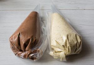 Пакетики наполненные кремом