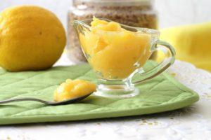 Лимонный нежный крем