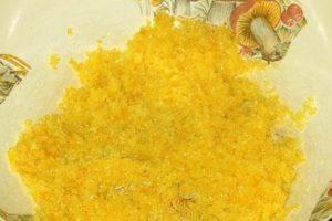 Лимонная цедра с сахарным песком