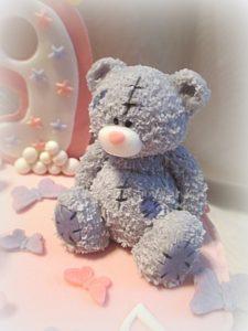 Пошаговое фото медведя из мастики