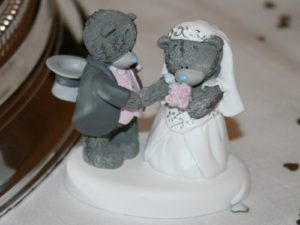 Свадебная пара мишуток Тедди