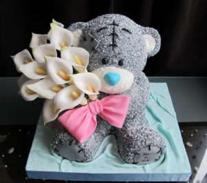 """Торжественный торт """"Мишка Тедди"""""""
