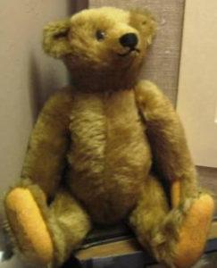 Точная копия первого оригинального мишки Тедди