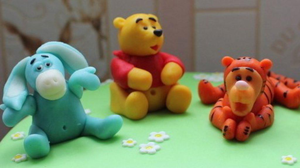 Фигурки на торт из мастики фото