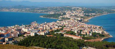 Город Синоп (Северная Турция)