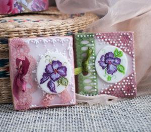 Поздравительные открытки из мастики