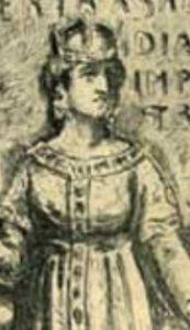 Берта Савойская - королева Германии и императрица Священной Римской империи, супруга императора Генриха IV
