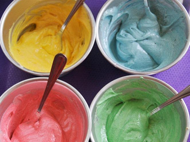 Как сделать крем цветным в домашних условиях