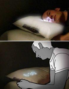 Подушка-будильник со встроенной технологией
