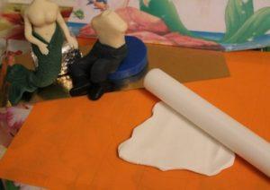 Белая мастика для рубашки Эрика