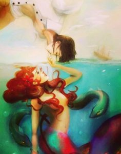 Невероятная диснеевская история любви русалочки Ариэль и принца Эрика