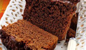 Готовый шоколадный хлеб - Савойский бисквит