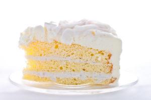 Бисквитный торт с устойчивым сметанным кремом