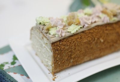 Десерт Сказка с масляным кремом