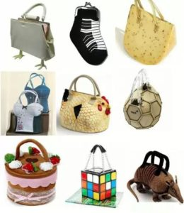 Экстравагантные сумочки современности