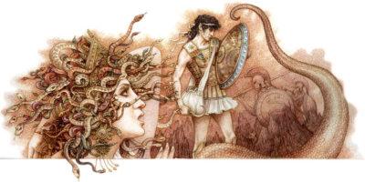 Персей с головой Медузы Горгоны